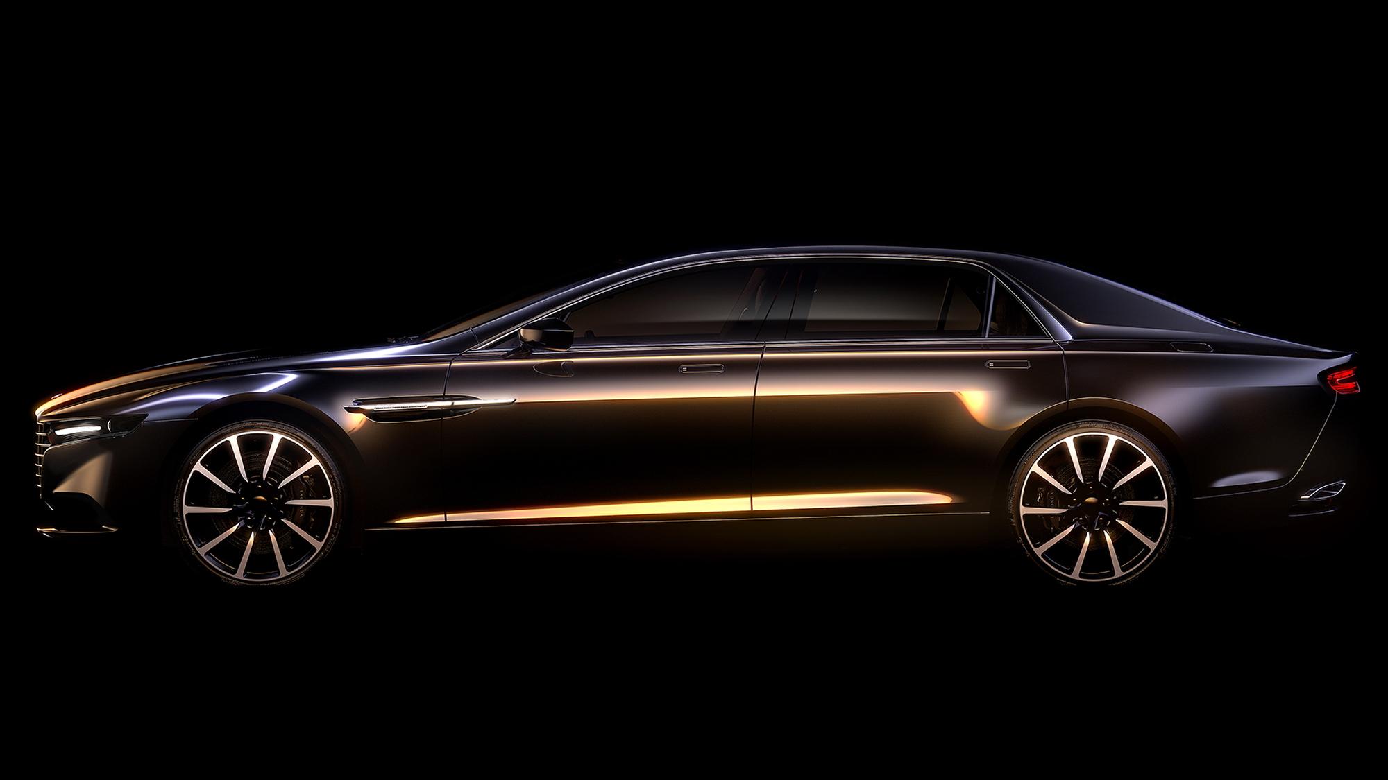 New limited-edition Aston Martin Lagonda sedan
