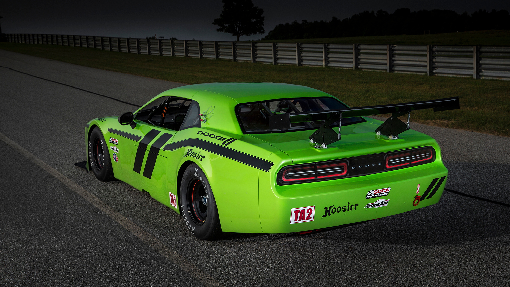 Dodge Challenger SRT Trans-Am Race Car