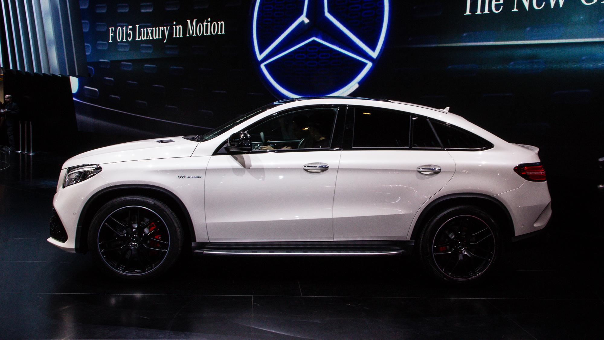 2016 Mercedes-AMG GLE63 S Coupe 4Matic live photos, 2015 Detroit Auto Show