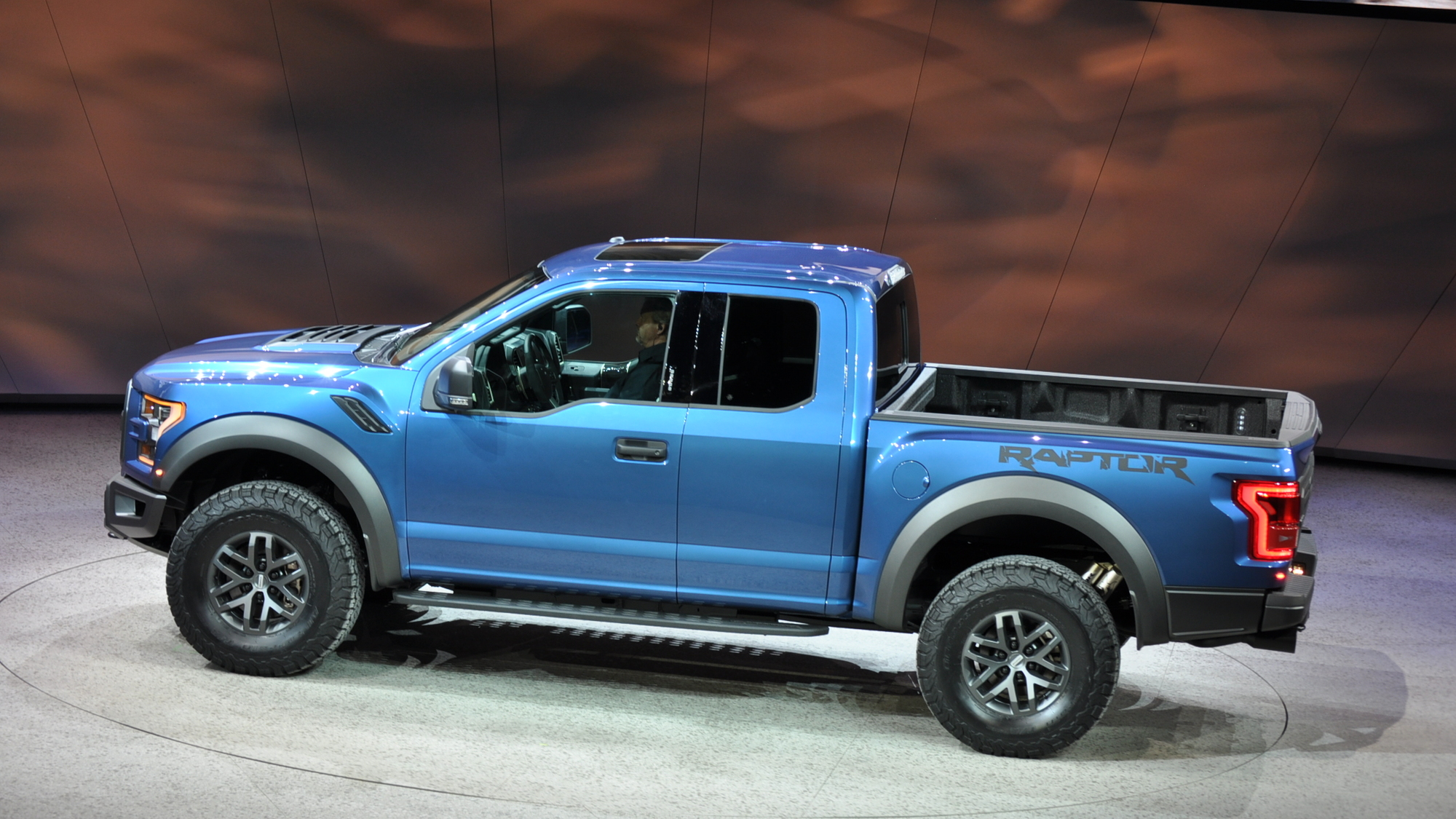 2017 Ford F-150 Raptor, 2015 Detroit Auto Show