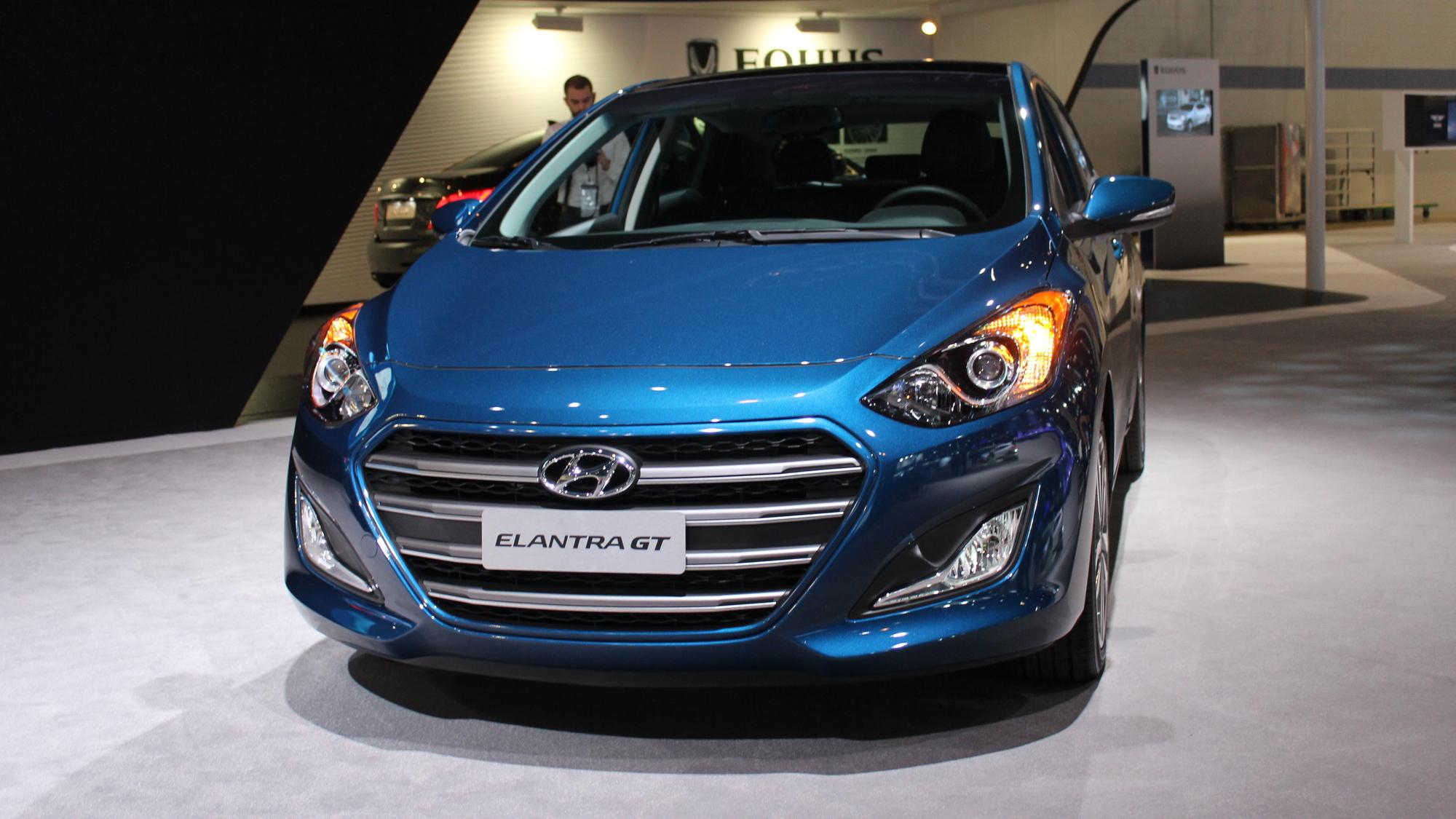 2016 Hyundai Elantra GT, 2015 Chicago Auto Show