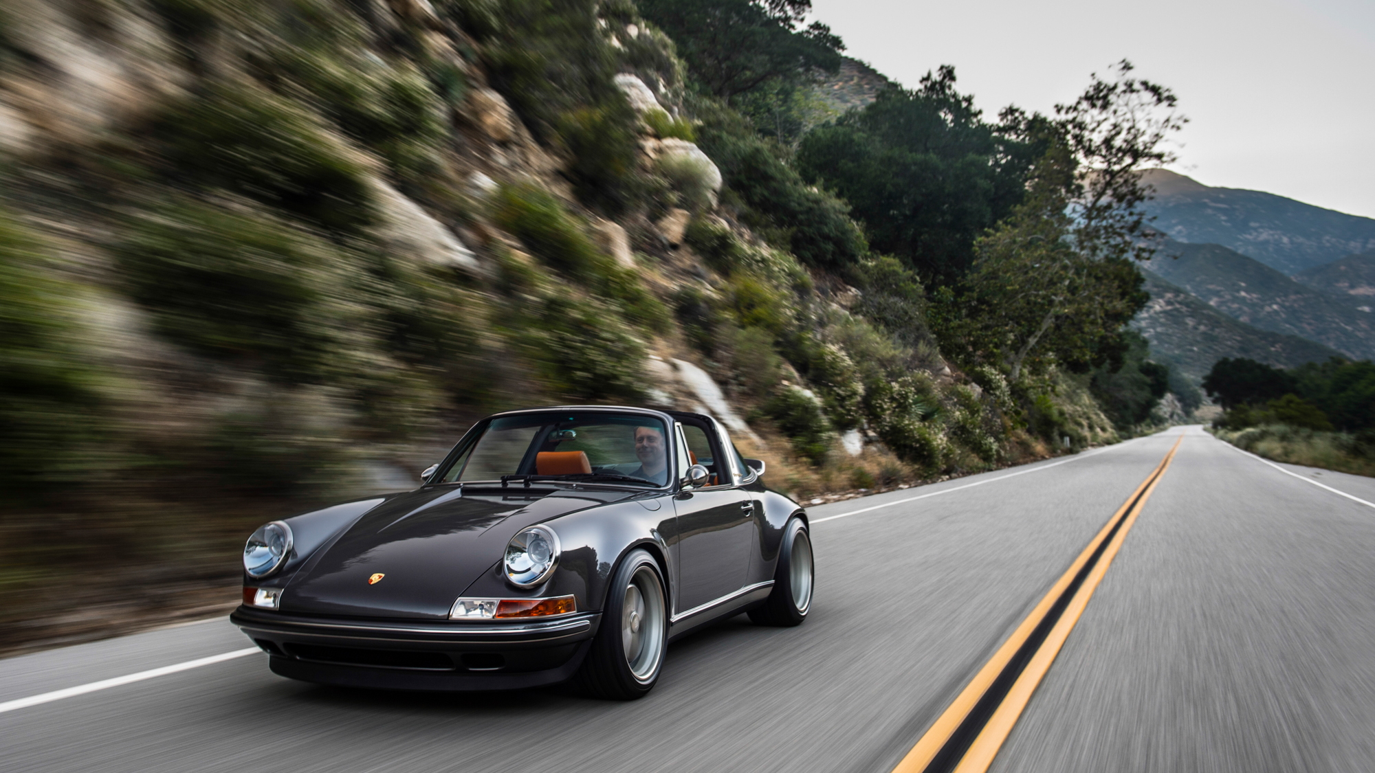 Porsche 911 Targa Reimagined by Singer
