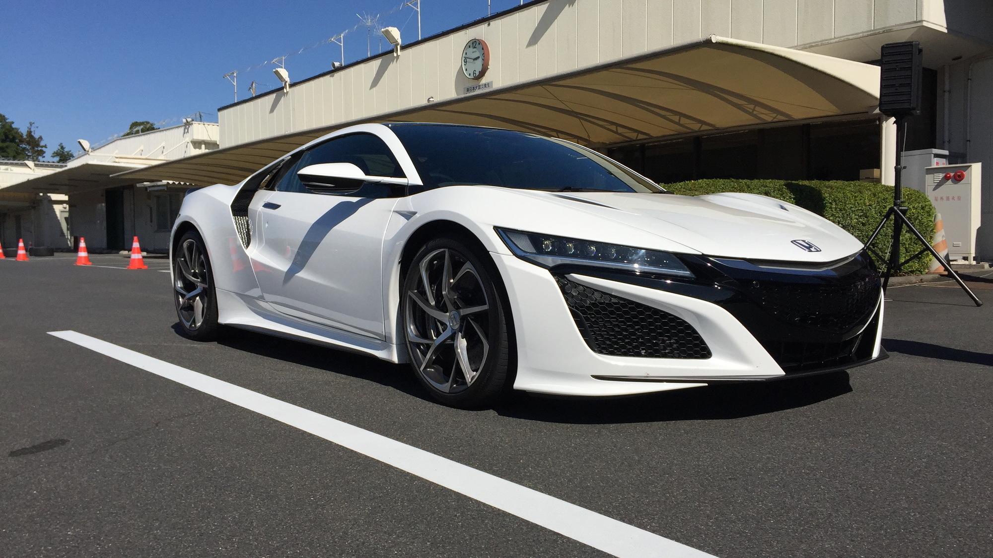 Acura NSX, Honda R&D Center, Oct. 2015