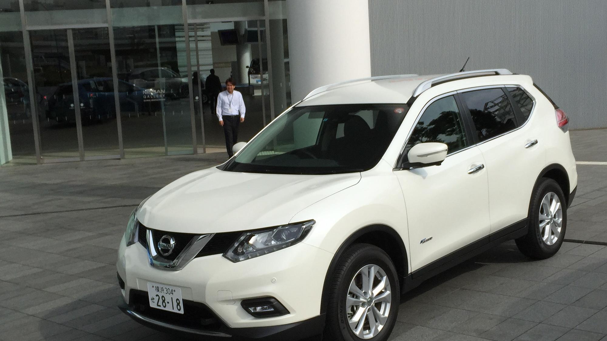 Nissan X-Trail Hybrid (Japanese-spec)  -  Quick Drive, November 2015