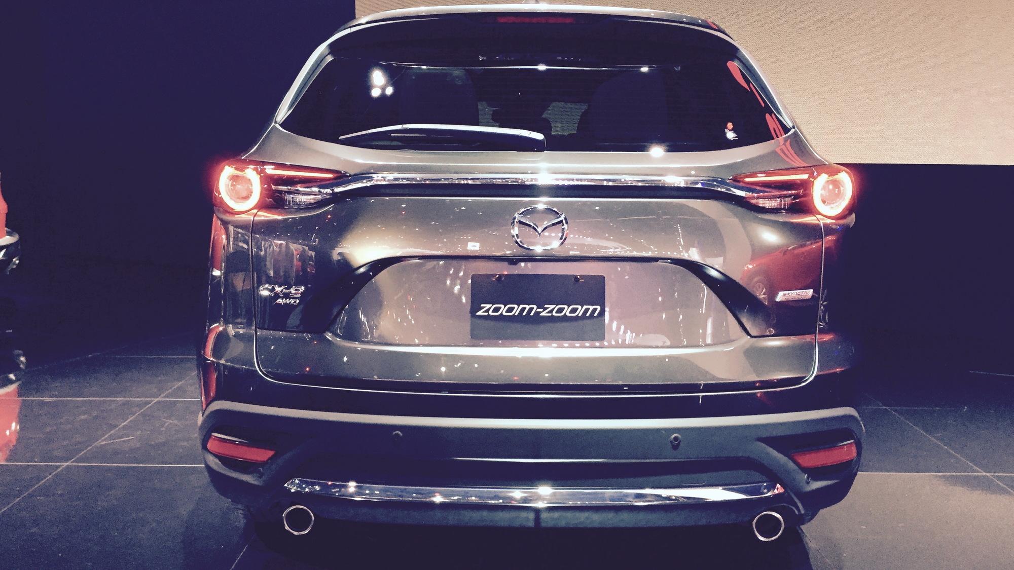 2016 Mazda CX-9, 2015 Los Angeles Auto Show
