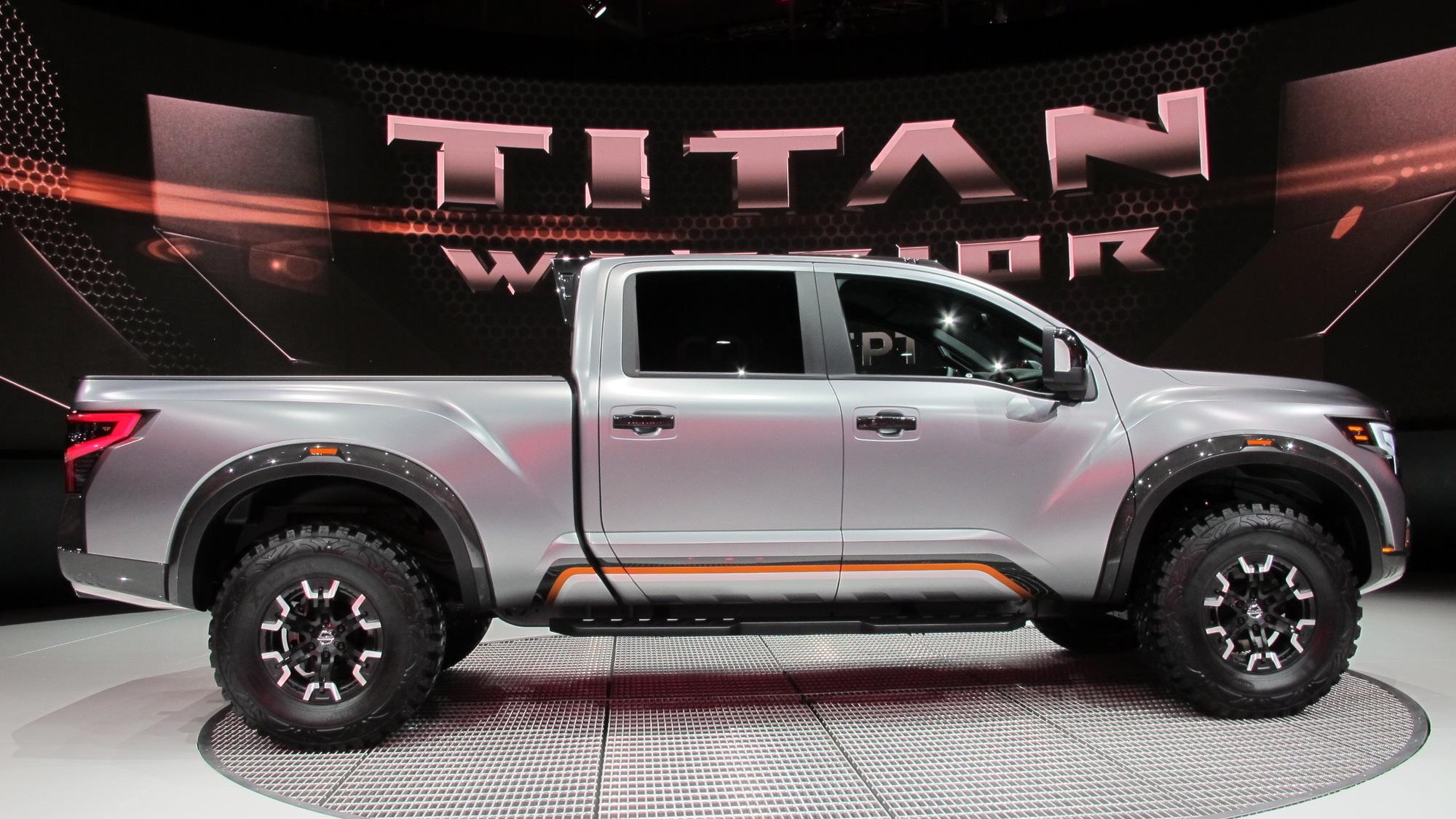 Nissan Titan Warrior Concept, 2016 Detroit Auto Show