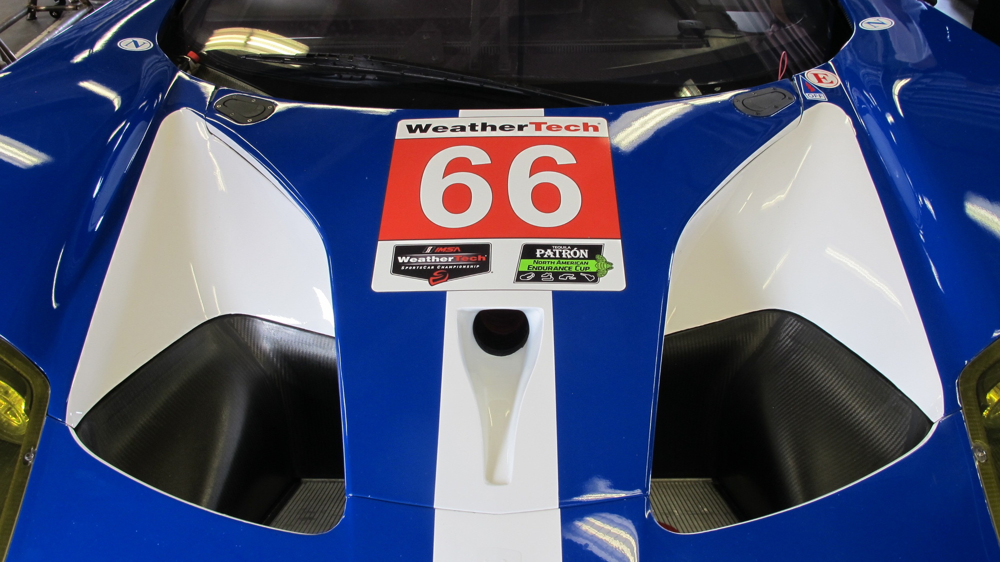 Ford GT race car, 2016 Rolex 24 At Daytona