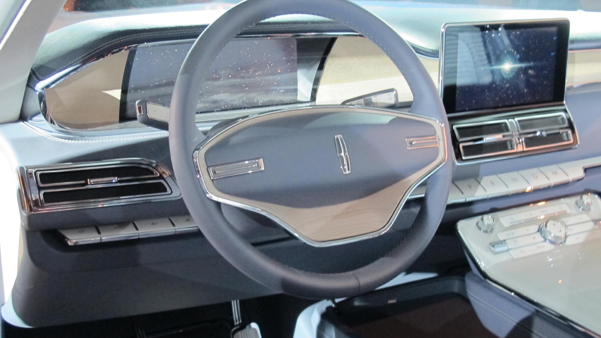 Lincoln Navigator Concept, 2016 New York Auto Show