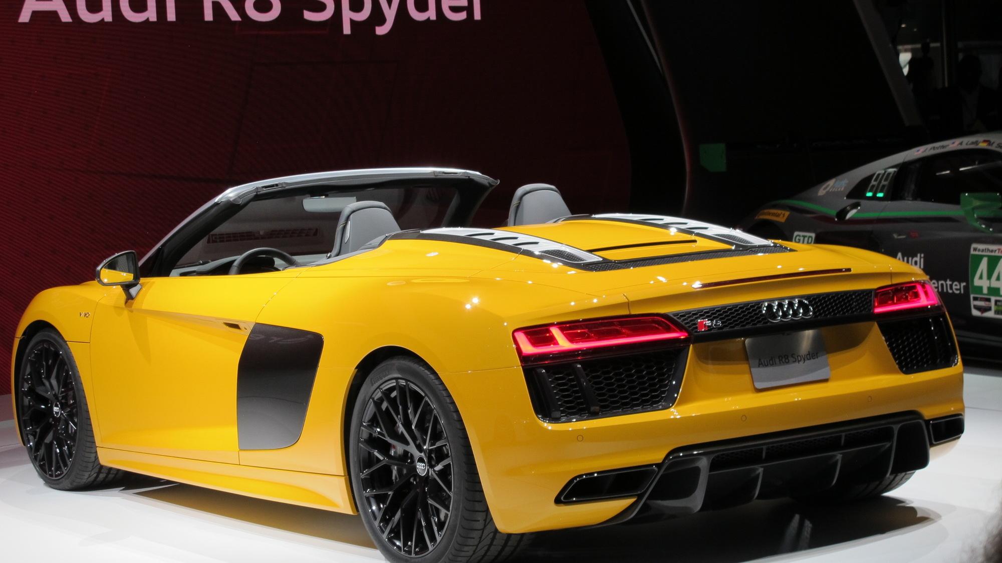 2017 Audi R8 V10 Spyder, 2016 New York auto show