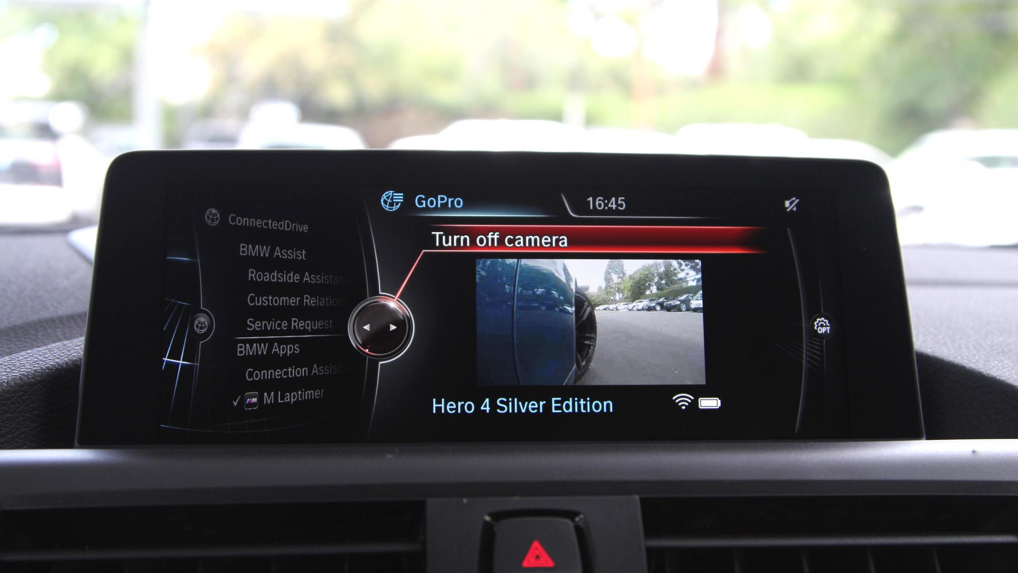 BMW M Laptimer app with GoPro integration