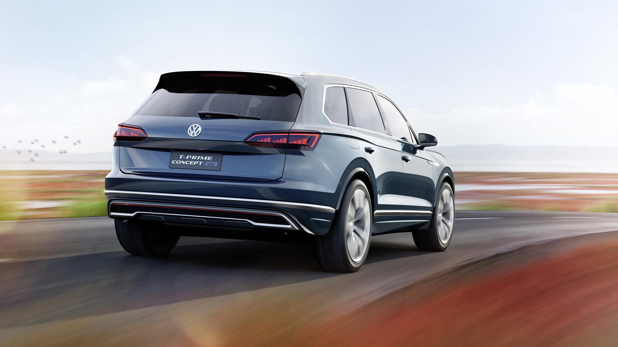 Volkswagen T-Prime GTE concept, 2016 Beijing Auto Show