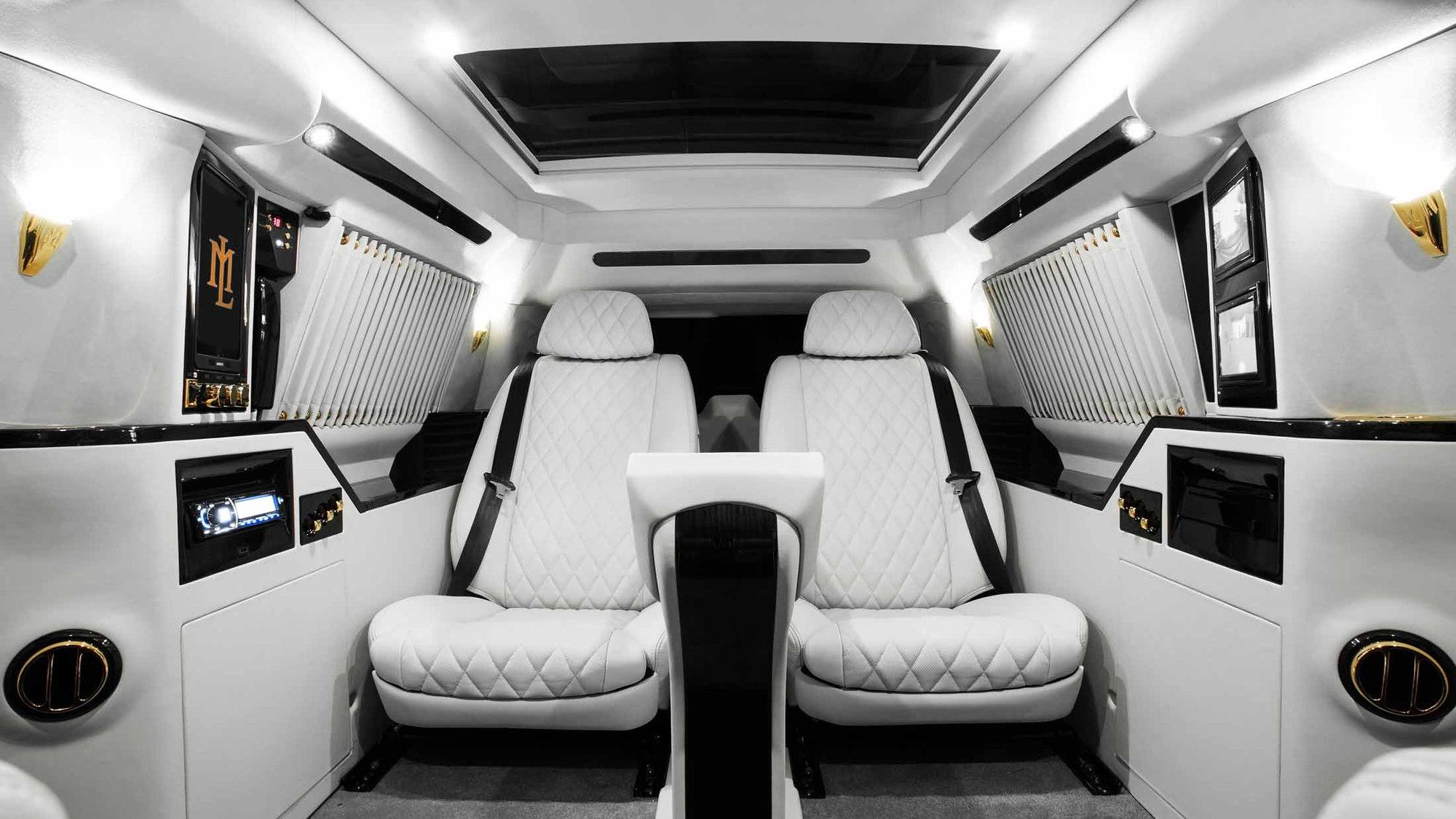 2016 Cadillac Escalade Lexani Sky Captain Piano