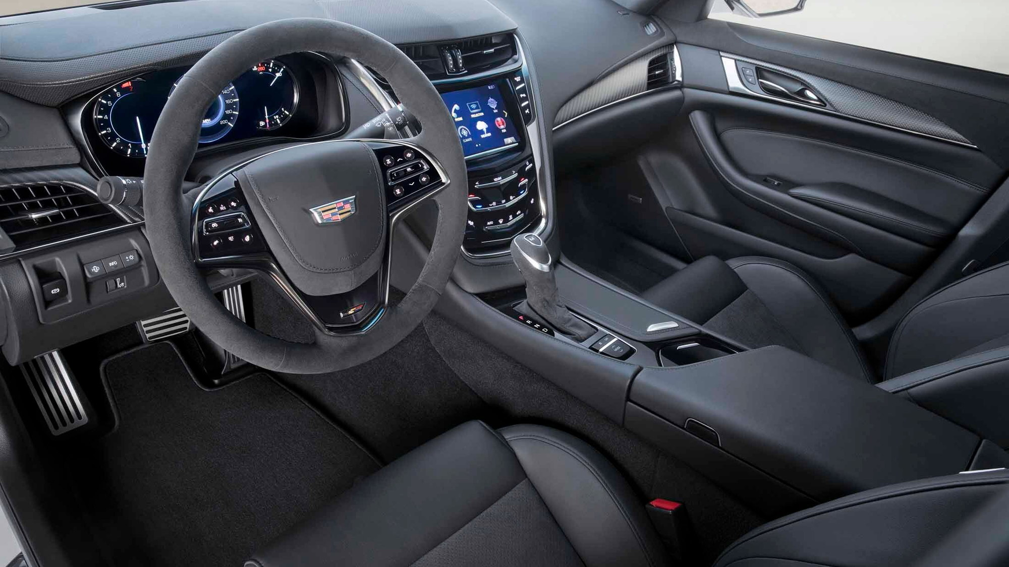 2017 Cadillac Carbon Black