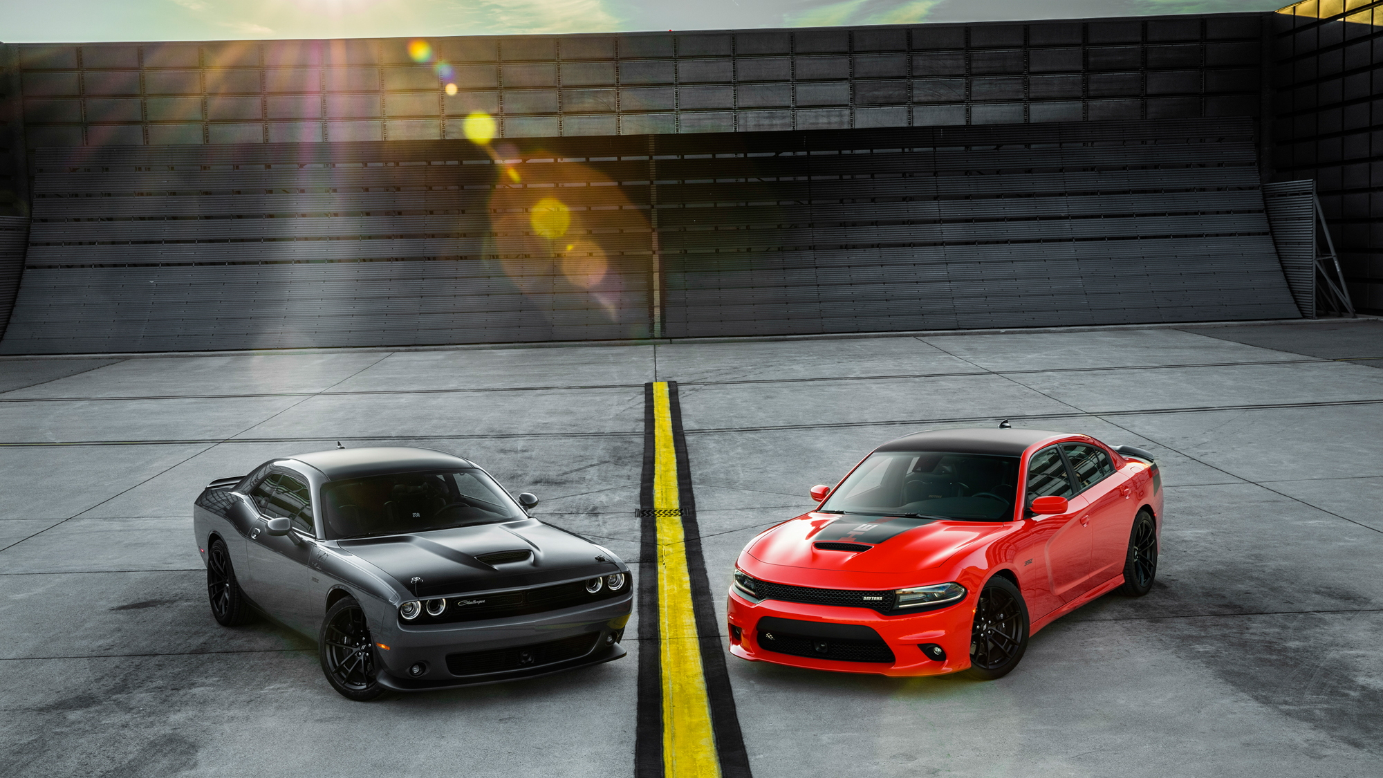 Dodge shows off its updated 2017 Challenger and Charger lineup