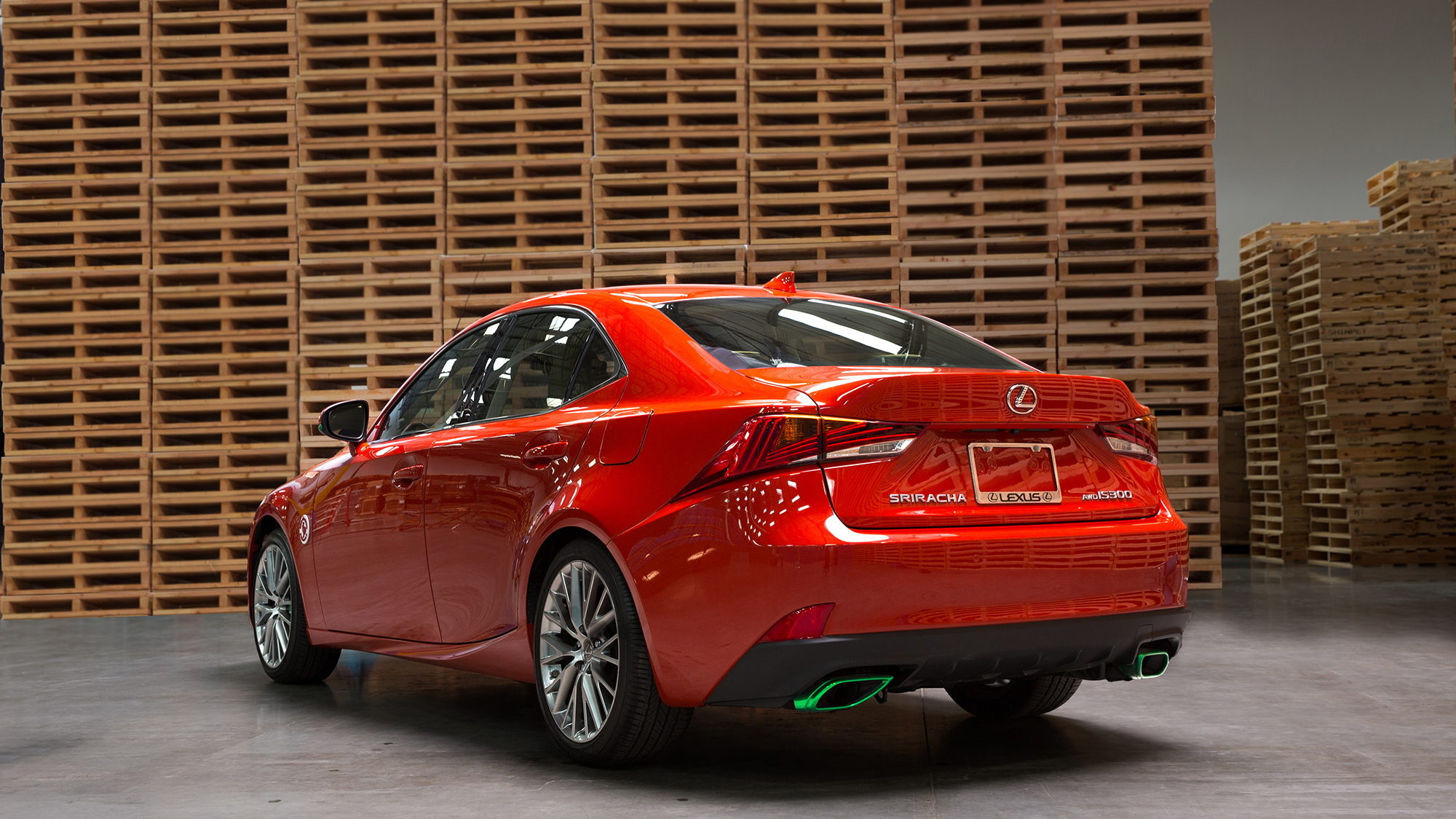 Lexus Siracha IS