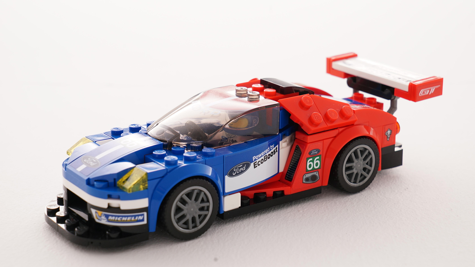 Ford GT and Ford GT40 by LEGO
