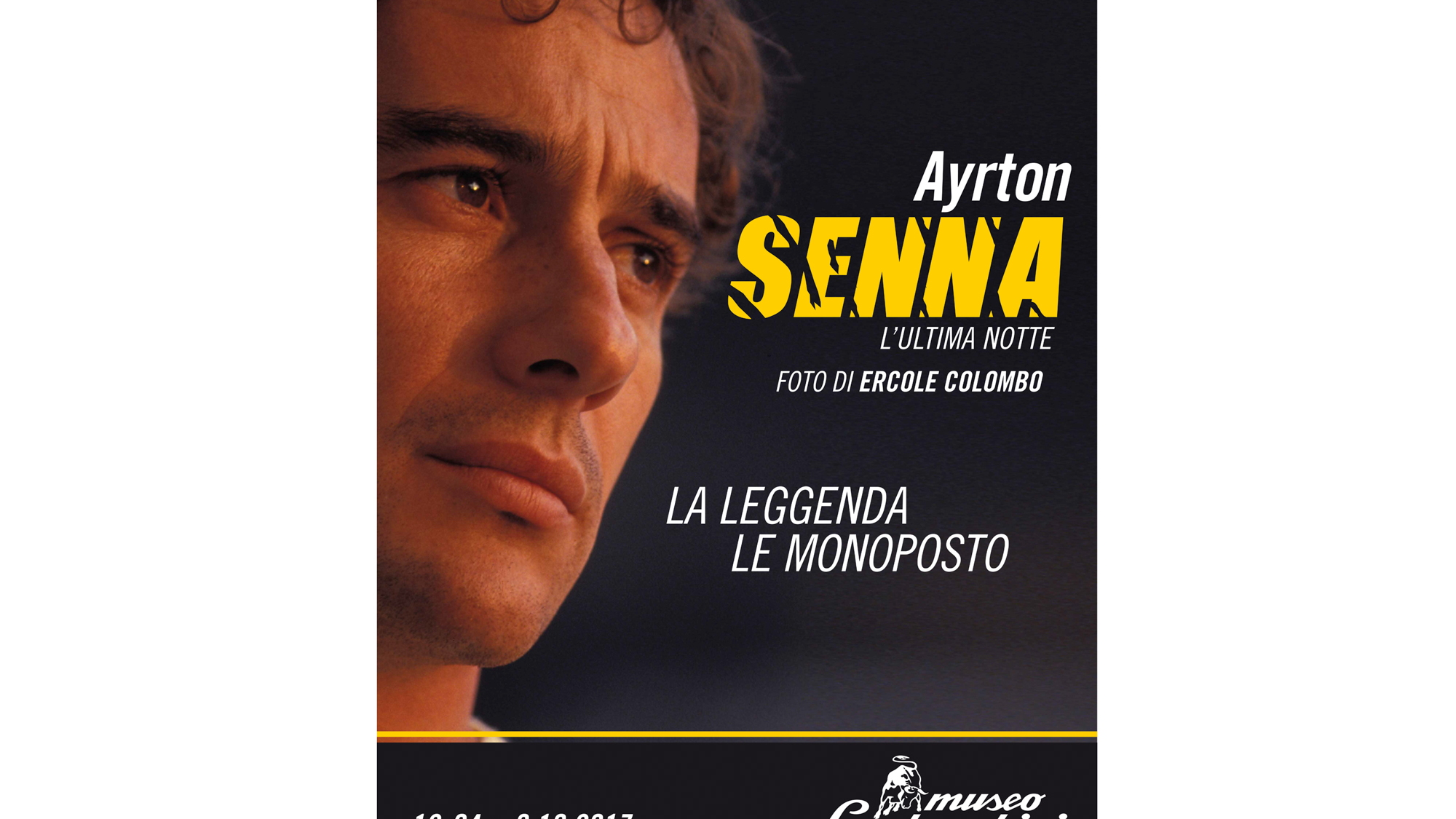 Ayrton Senna exhibit at the Lamborghini Museum