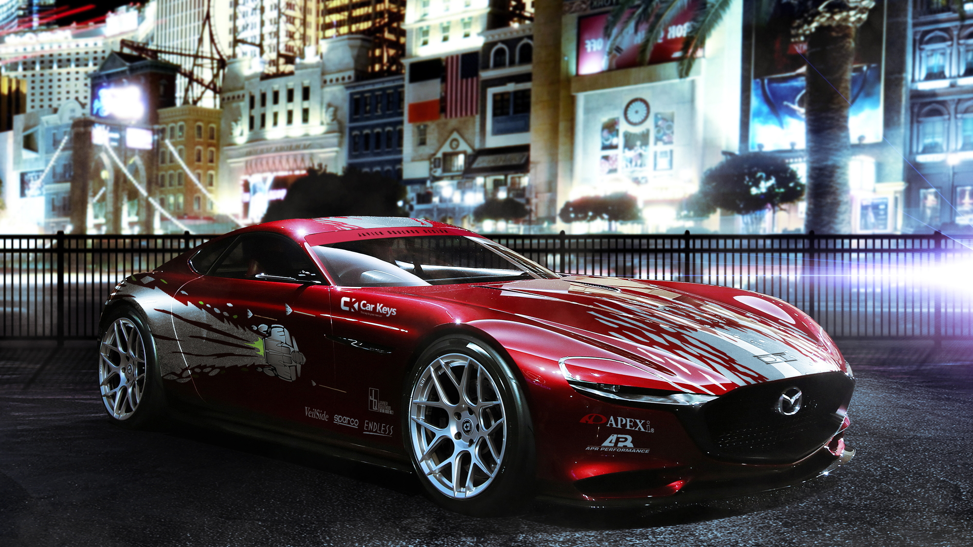 Mazda RX-Vision Fast and Furious livery