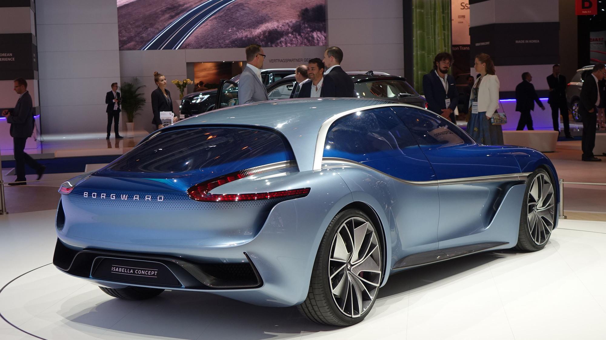 Borgward Isabella concept, 2017 Frankfurt auto show