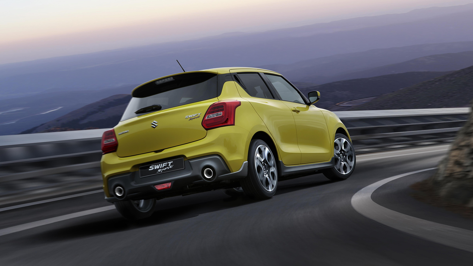The new 2018 Suzuki Swift Sport