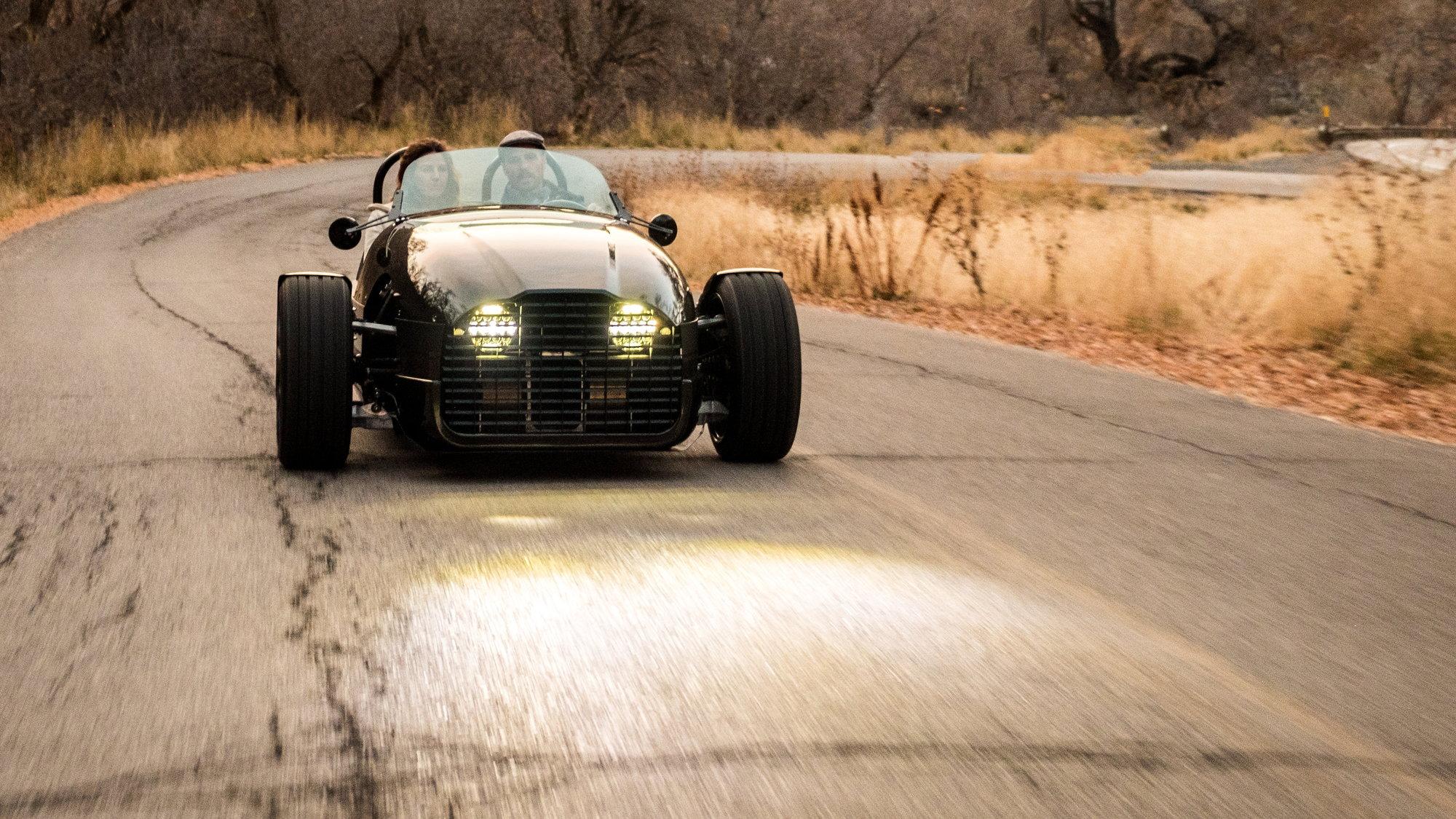 Vanderhall Edison² electric three wheeler