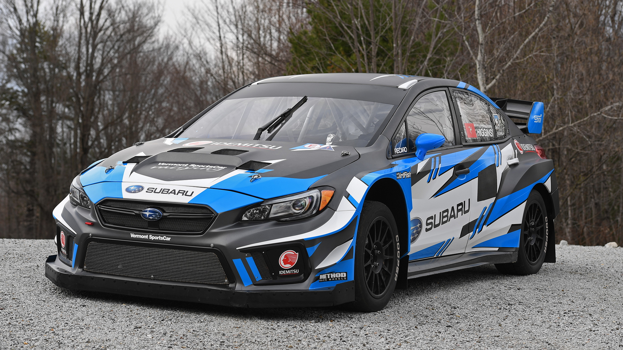David Higgin's Subaru Americas Rallycross Championship team car