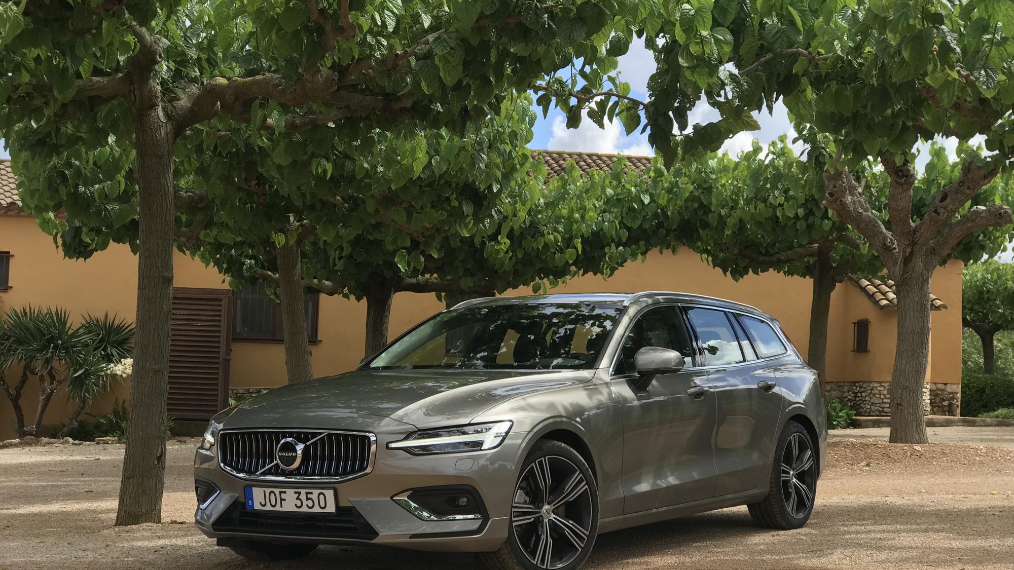 2019 Volvo V60, Tarragona, Spain, June 2018