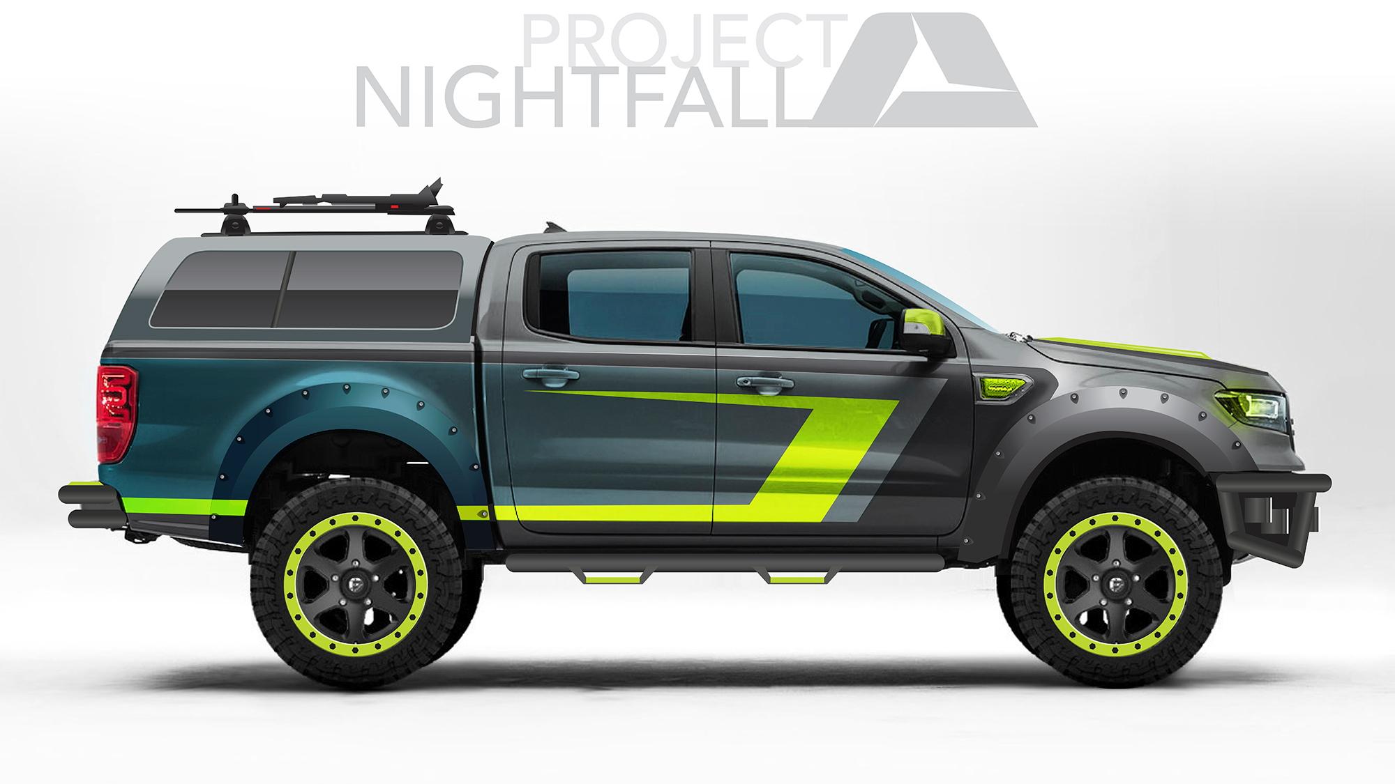 Ford Ranger SEMA Project Nightfall