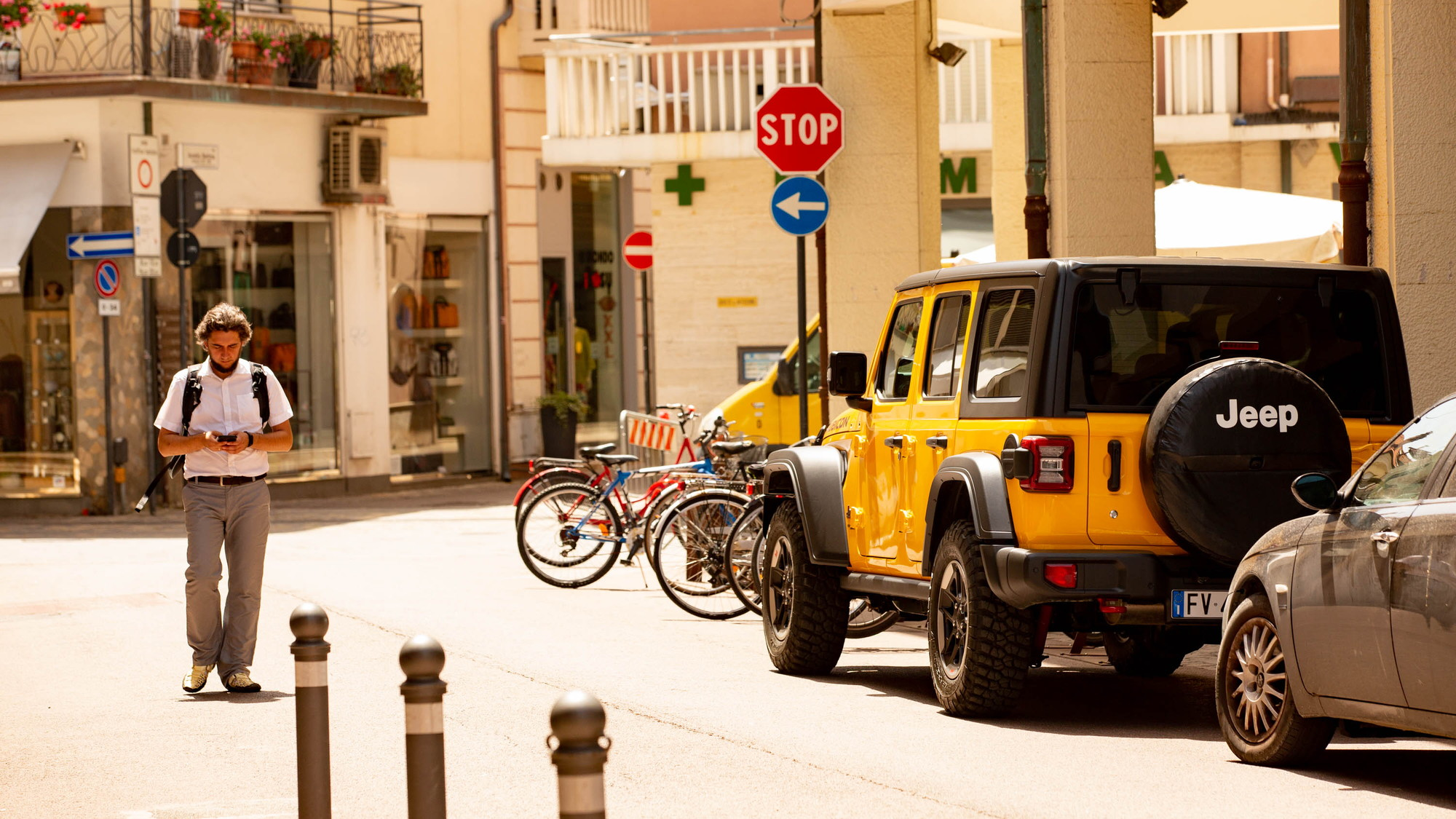 2019 Jeep Wrangler Rubicon in Rimini (Crossing the Rubicone)