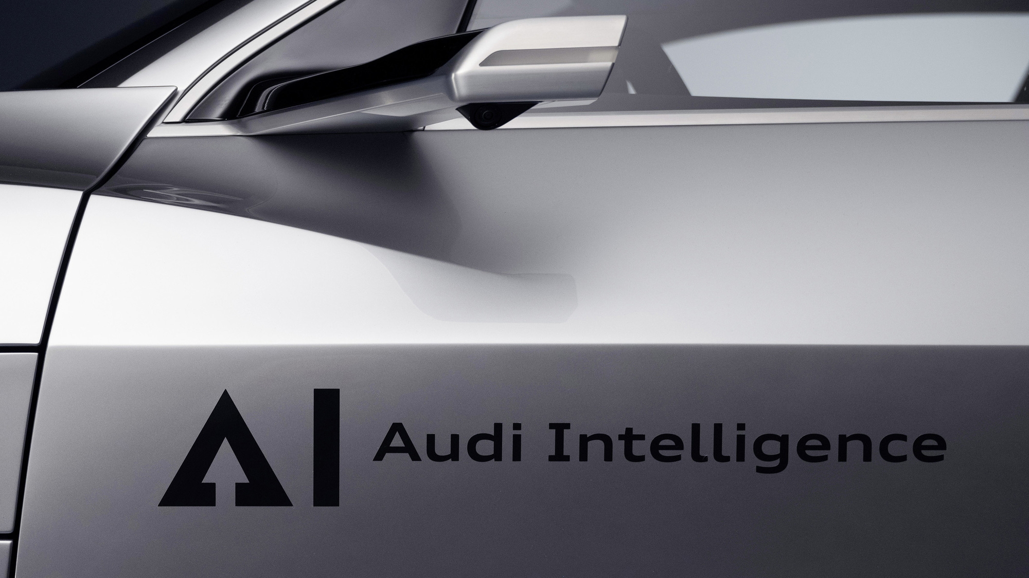 Audi side mirror camera