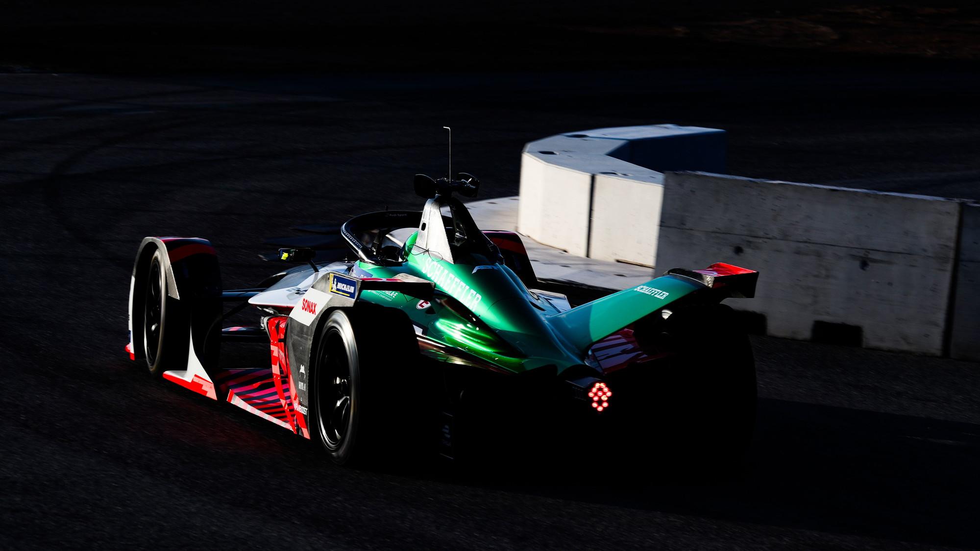 Audi FE06 Formula E race car