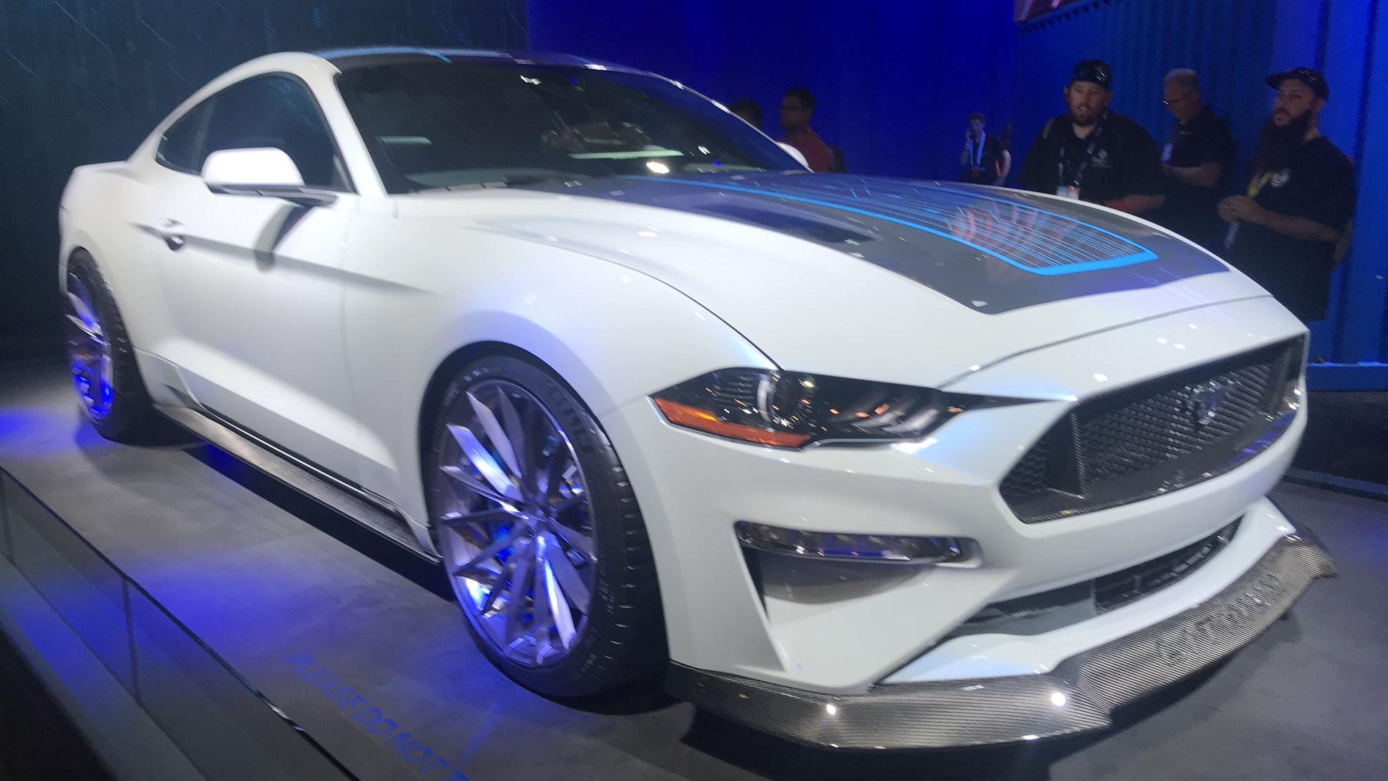 Ford Mustang Lithium electric car  -  Ford/Webasto  -  2019 SEMA show