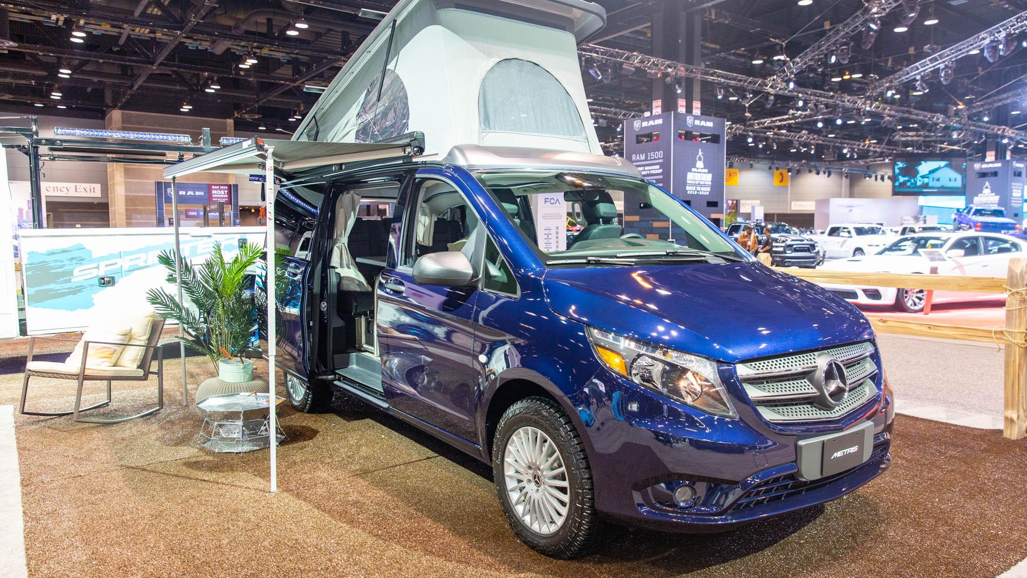 Mercedes Benz Metris Van Now Comes As A Pop Up Camper