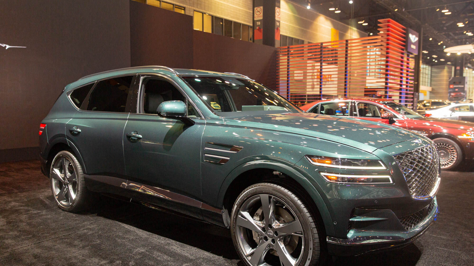 2020 Genesis GV80, 2020 Chicago Auto Show