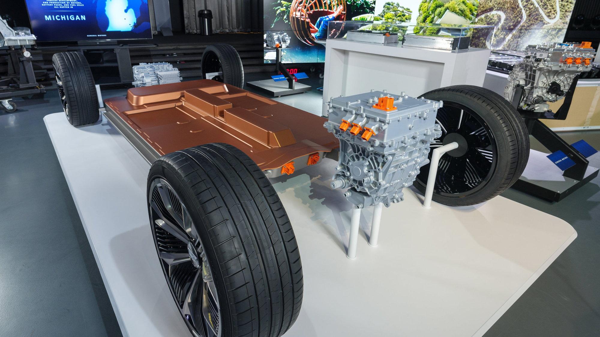 General Motors' BEV3 platform and Ultium batteries