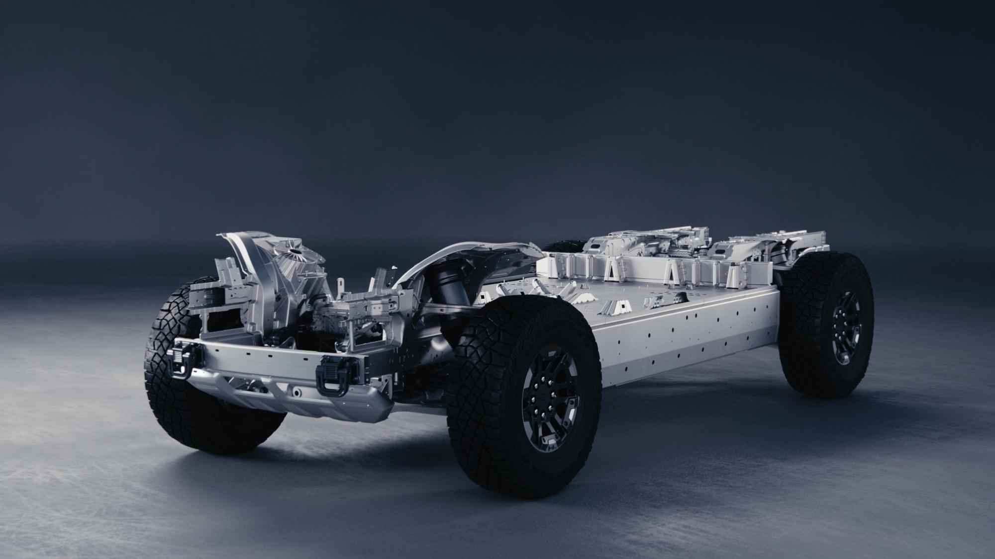 Ultium EV platform - GMC Hummer EV