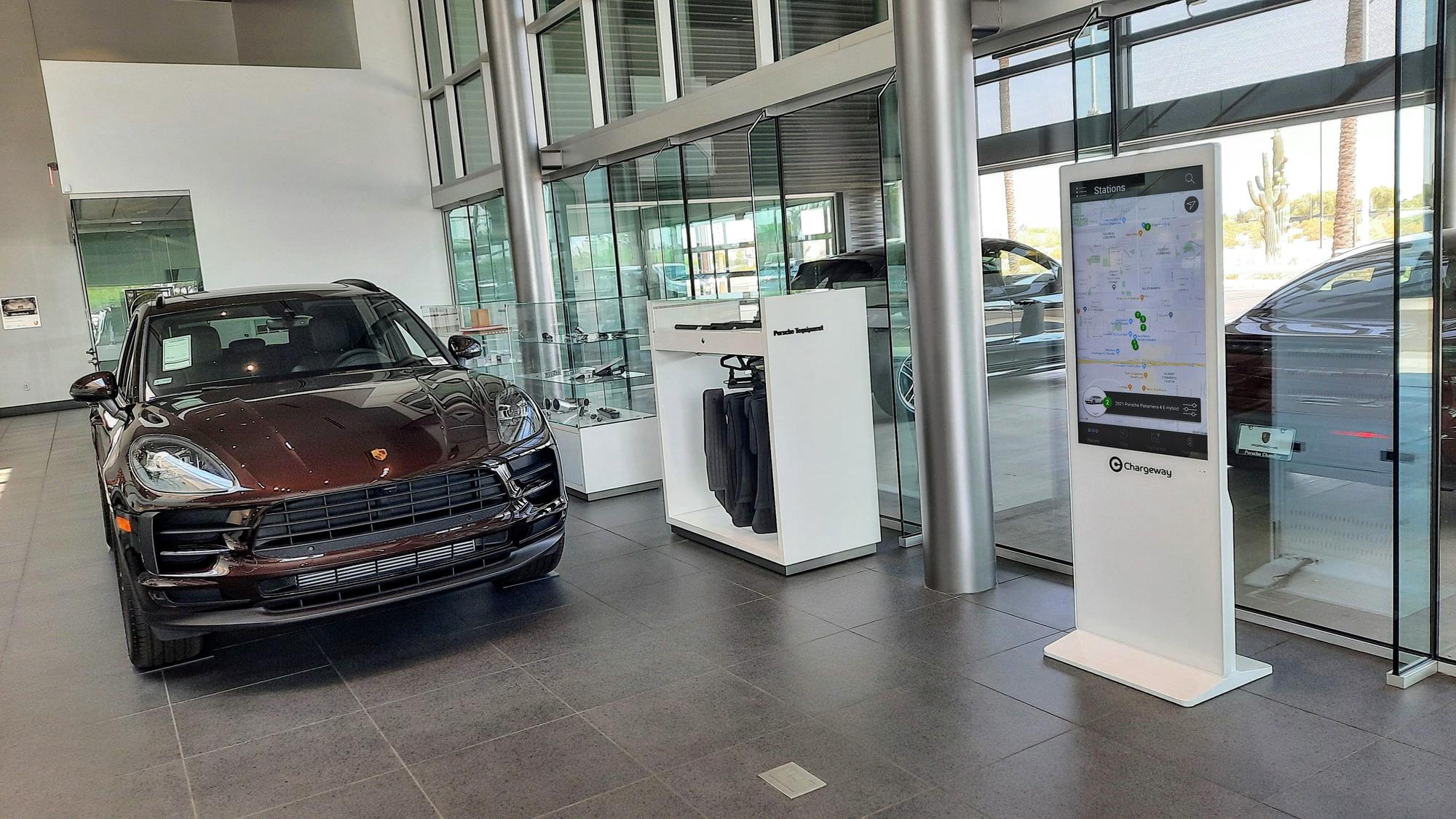 Porsche Cayenne plug-in hybrid with Chargeway Beacon  -  Porsche Chandler, Chandler AZ
