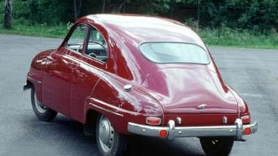Saab 9-2 rear