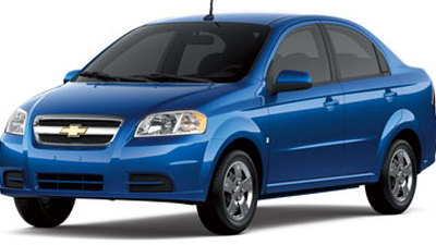 2009 Chevrolet Aveo Small Cheerful Green