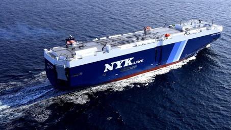 Auriga Leader hybrid cargo ship