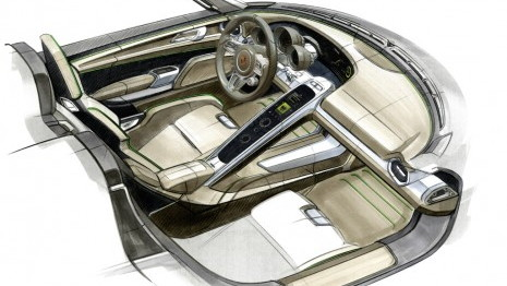 Porsche 918 Spyder plug-in hybrid supercar