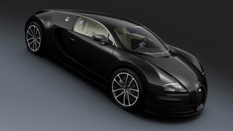 Bugatti Veyron Super Sport Black Carbon edition