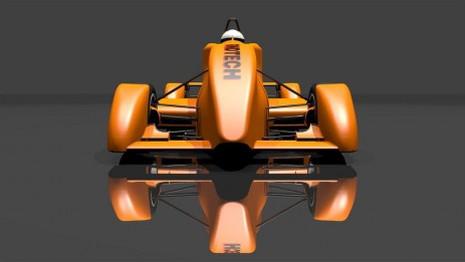 FondTech E-11 electric race car prototype