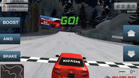 Suzuki Kizashi Ring of Fire iPad, iPhone game