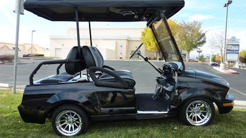 Shelby GT500KR Golf Cart