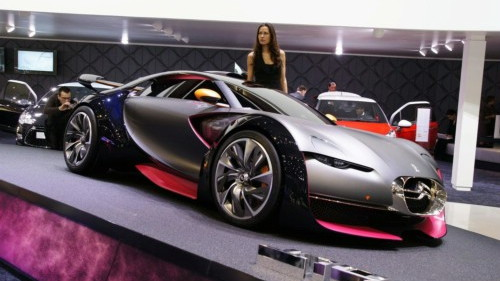 Citroën Survolt Concept Car - Geneva 2010 Debut
