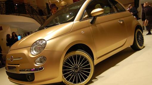 StudioM 24K gold Fiat 500 Pepita