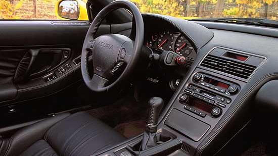 2001 Acura NSX interior