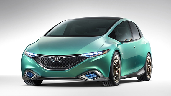 Honda Concept S hybrid 'passenger mover,' shown at 2012 Beijing Auto Show