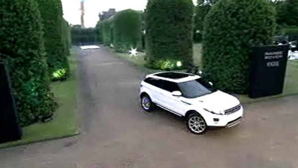 Range Rover Evoque unveiling at Kensington Palace